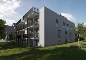 Architekturvisualisierung Neubau MFH - Böckten