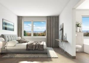 Visualisierung Schlafzimmer - MFH in Gockhausen