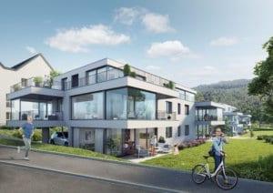 Visualisierung 2x MFH in Erlinsbach