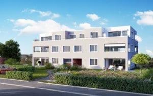 Visualisierung Neubau MFH - Gockhausen
