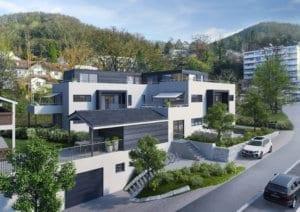 Visualisierungen Neubau MFH - Klingnau