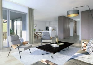 Visualisierungen Wohnung Neubau - Malters