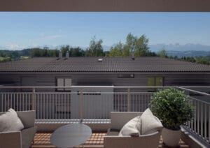 3D-Visualisierung Terrasse1 Utzigen